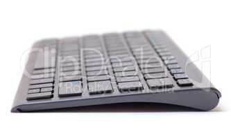 Computer keyboard with shallow dof