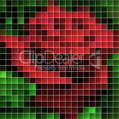 Colorful EPS10 mosaic background