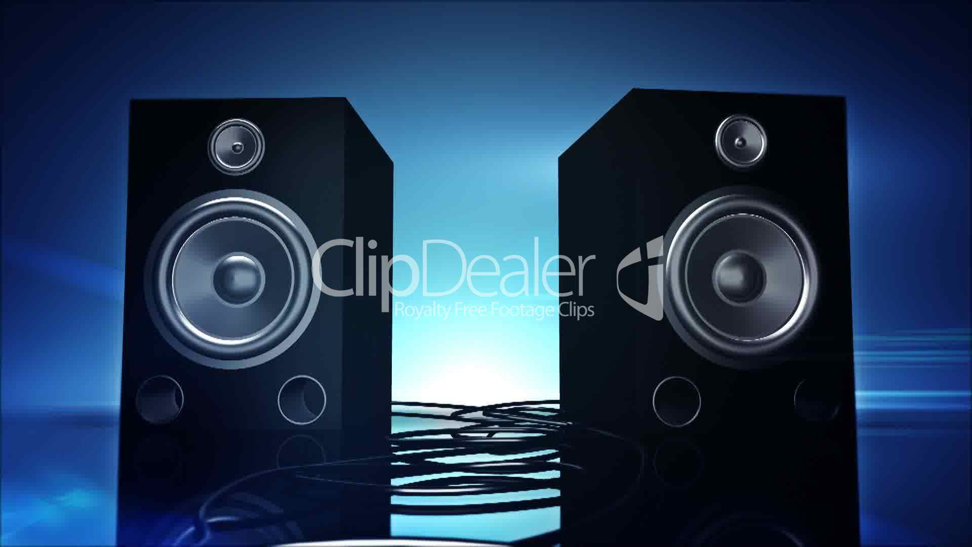 thumping bass speakers  royalty