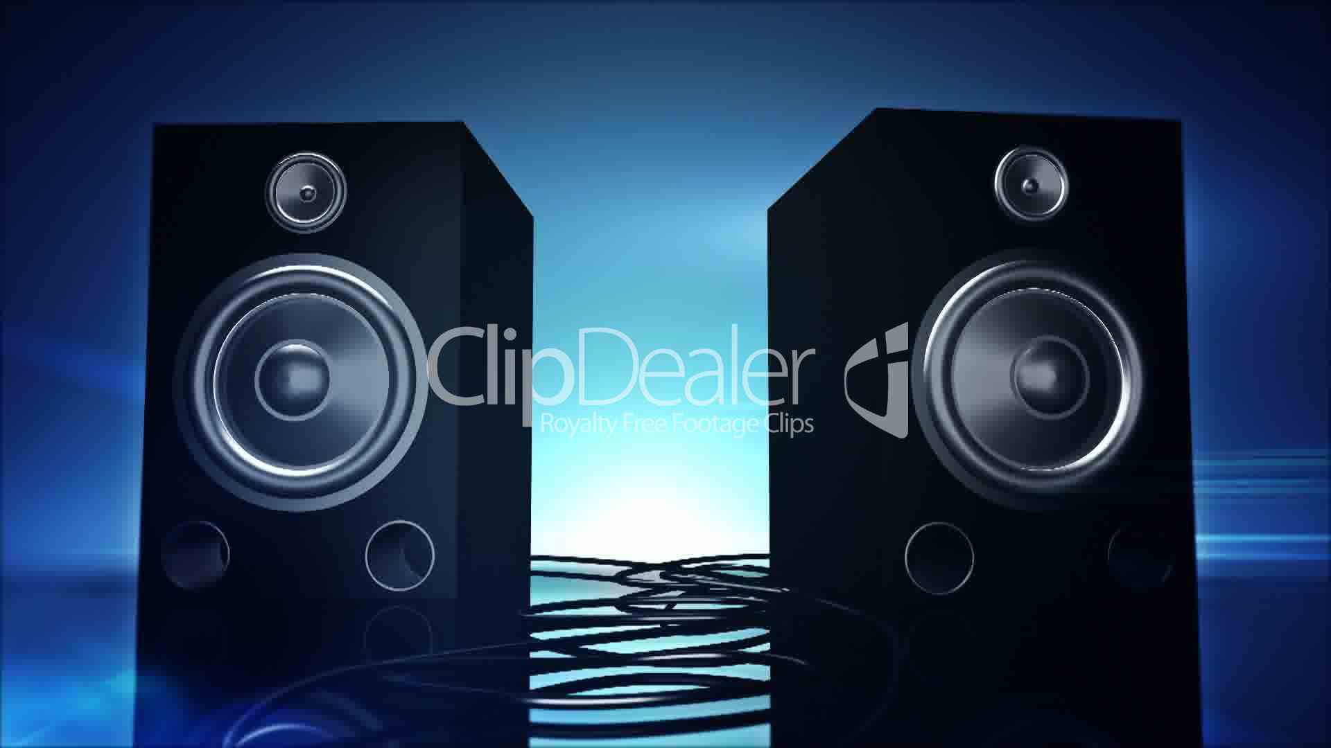 Thumping Bass Speakers Royalty Free Video And Stock Footage