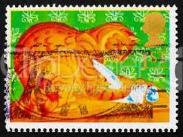 Postage stamp GB 1994 Orlando, the Marmalade Cat