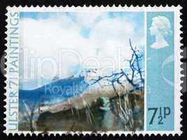 Postage stamp GB 1971 Deer?s Meadow, by Thomas Carr