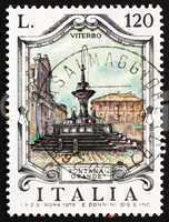 Postage stamp Italy 1979 Great Fountain, Viterbo, Italy