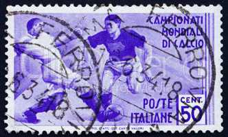 Postage stamp Italy 1934 Soccer Players