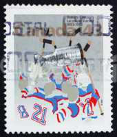 Postage stamp Canada 1993 Stanley Cup, Centenary