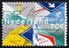 Postage stamp Netherlands 1983 Royal Dutch Touring Club