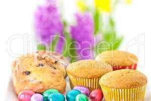 Gebäck mit Ostereiern, Cookies with Easter eggs