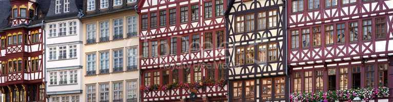Fachwerkhäuser Frankfurt am Main Römer