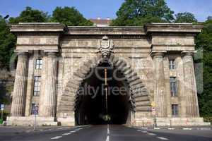 Buda Tunnel in Budapest
