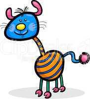 cartoon funny fantasy creature