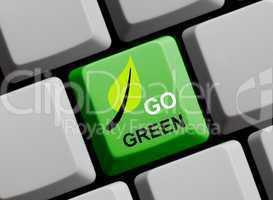 Go Green online