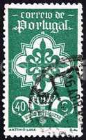 Postage stamp Portugal 1940 Emblem of Portuguese Legion