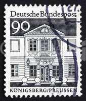 Postage stamp Germany 1966 Zschocke Ladies? Home, Konigsberg, Pr