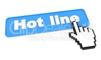 Hot Line - Web Button.