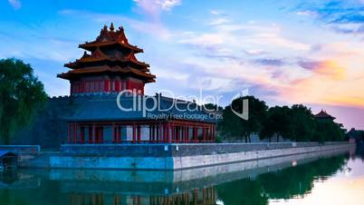 Forbidden City, Beijing, China Timelapse
