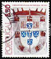 Postage stamp Portugal 1981 Arms of Duke of Braganza
