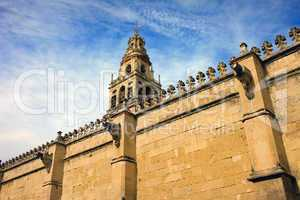 Wall and Tower of the Mezquita
