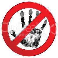 Sign forbidden