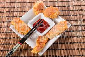 fish with chilli sauce