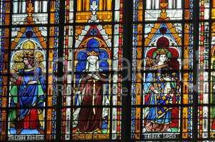 France, collegiate church of Mantes La Jolie