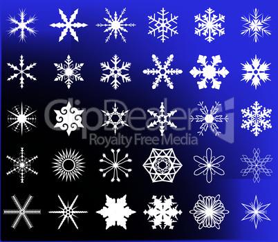 Snow Flake Storm.