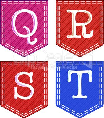 Four Letters, Q, R, S, T.