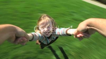 Spinning Girl