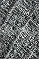 Steel mesh in multiple layers