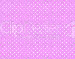 Pinker Hintergrund mit weißen Punkten