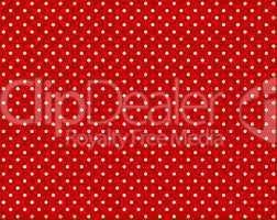 Roter Hintergund mit weißen Punkten