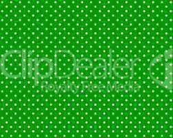 Grüner Hintergrund mit weißen Punkten