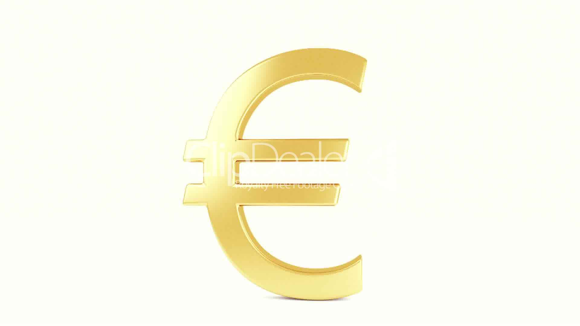 Gold currency symbol royalty free video and stock footage stock market symbol three dimensional shape biocorpaavc Images