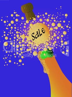 Bubbly Sale