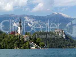 Lake Bled - Blejsko jezero, Slovenia