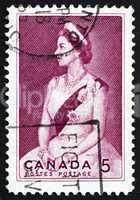 Postage stamp Canada 1964 Queen Elizabeth II