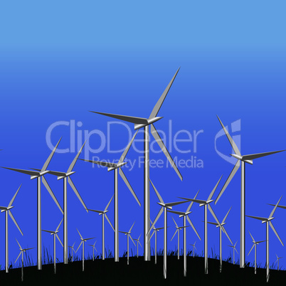 Wind Alternative energy station