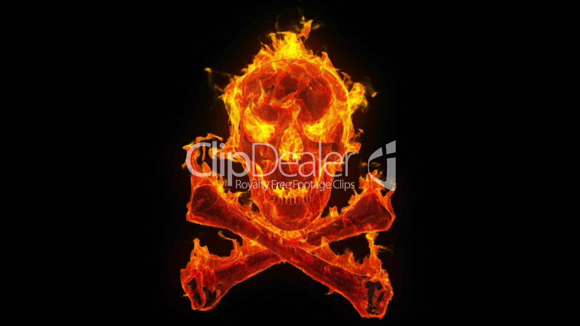 Burning Evil Skull And Crossbones | www.imgkid.com - The ...