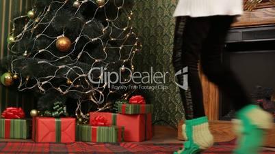 Child on Christmas Eve