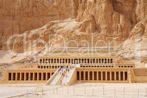 Temple of Queen Hatshepsut. Luxor, Egypt