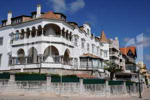 a house in the city of Cascais in Portugal