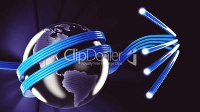 Fiber optic world