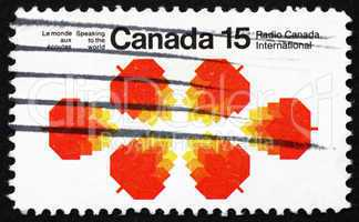 Postage stamp Canada 1971 Maple Leaves