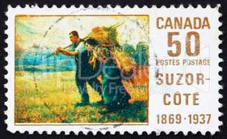 Postage stamp Canada 1969 Return from the Harvest Field