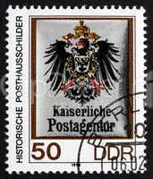 Postage stamp GDR 1990 Imperial Postal Agency