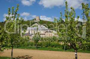 France, the castle of La Roche Guyon