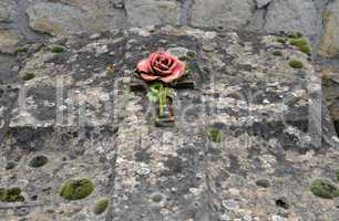 Val d Oise, old tomb in Courdimanche cemetery