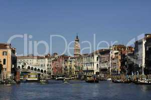 Italy, old palace near Grand Canal