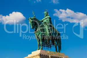 Statue of King St. Stephen, Budapest, Hungary