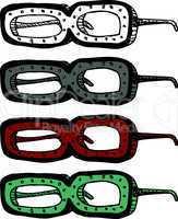 Strange Eyeglasses