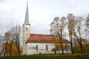Lutheran church, Johvi, Estonia.